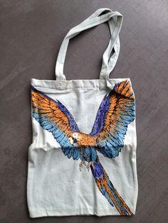 BOSS ORANGE Tasche/Beutel/ Designer Shopper Papagei/Ara Limited FACEBOOK Edit. | eBay