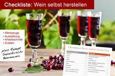 Checkliste Wein selbst herstellen