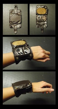 Hand made leather Vortex Manipulator a la Jack Harkness.