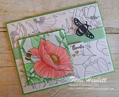 Dragonfly Dreams | Swimming In Stamps