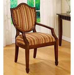 Product: Madison Park® Hampton Carousel Brass Accent Chair