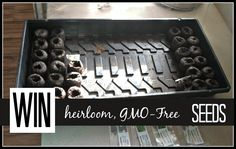 Giveaway for GMO-Free Heirloom Seeds