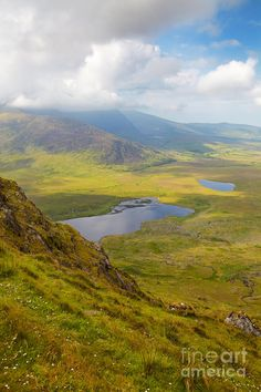 ✯ View from Connor Pass - County Kerry, Ireland