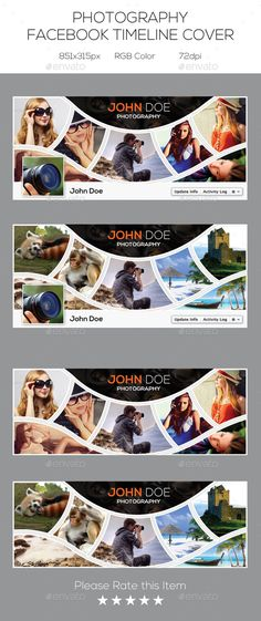 Photography Facebook Timeline Cover Web Design, Web Banner Design, Fb Banner, Banner Design Inspiration, Catalogue Layout, Brochure Cover Design, Collage Design, Attitude, Facebook Timeline Covers