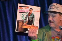 Neil Flanz 2016 Steel Guitar Hall of Fame Induction Ceremony showcasing Neil Flanz and His Nashville Steel album