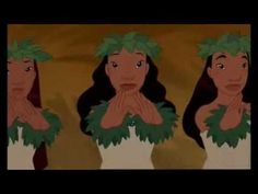 """Original version of the song """"He Male No Lilo"""" from Disney's 42nd classic """"Lilo and Stitch"""""""