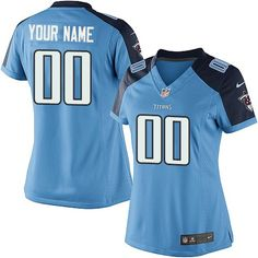 d420cc119 Texans Lamar Miller jersey Nike Limited Light Blue Women s Jersey -  Customized Tennessee Titans NFL Home