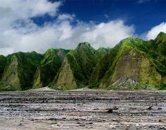La Belleza De Filipinas. Fachada del Monte Pinatubo
