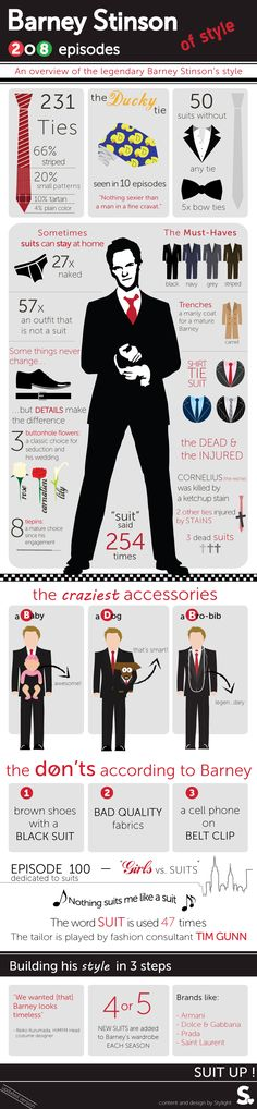 Suit up and dress like Barney Stinson