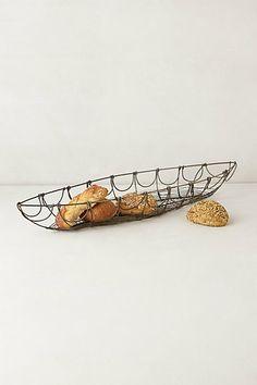 Tracery Bread Basket - anthropologie.com