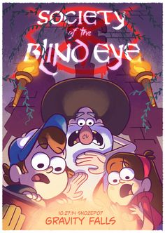 Attention, citizens! The shadow government of Gravity Falls DOES NOT want you to watch Society of the Blind Eye