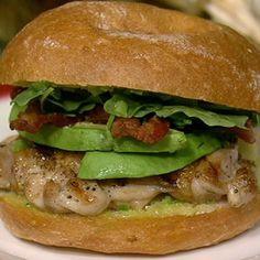 Mario Batali's Grilled Chicken Club - the chew - ABC.com
