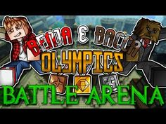 Minecraft Benja and Bacca Olympics: Bacca King (Challenge Sprint Race, Game 7, Parkour, Olympic Games, Olympics, Minecraft, Battle, Challenges, Racing