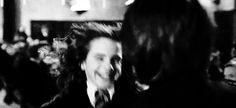 Hermione & Harry hugging - happy