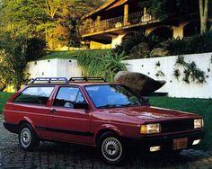 1989 VW Parati GLS 1.8 - Brasil