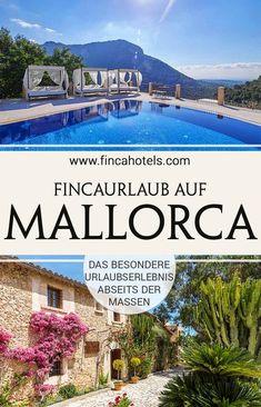 Fernab von Massentourismus und Trubel der quirligen Touristenzentren haben wir für euch himmlische Oasen auf Mallorca entdeckt. Orte der Entschleunigung und Gastfreundschaft - perfekt, um Land und Leute kennen zu lernen, einzutauchen in die Kultur deines Urlaubsziels und mit viel Privatsphäre und Platz um neue Energien zu tanken. Wir zeigen dir die schönsten Hotels auf Mallorca und sorgen dafür, dass du die beliebe Urlaubsinsel neu entdecken wirst. #mallorca #urlaub #mallorca