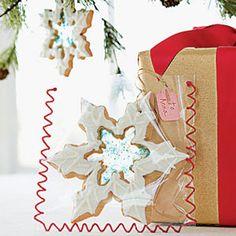 Crystal Snowflakes #recipe #christmascookies