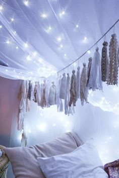 Hang tassels to give your canopy a unique flair.