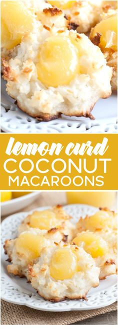 Lemon Curd Coconut M