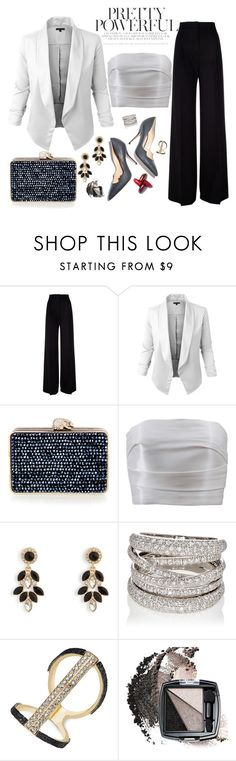 """Untitled #345"" by wanndan-anggita on Polyvore featuring MaxMara, Wilbur & Gussie, Monique Lhuillier, Paul Andrew, Vera Bradley, Sidney Garber, Thalia Sodi and Avon"