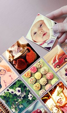 These cute magnets can be made with photos from your Instagram, camera-roll or desktop. A nice idea to stick your memories around!