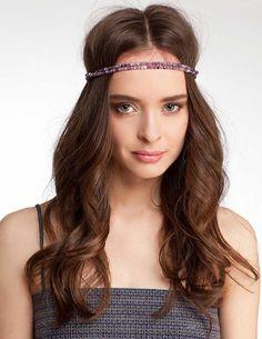Greek Goddess hairstyle with bead hairband :: one1lady.com :: #hair #hairs #hairstyle #hairstyles