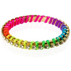 Ettika - perfect bracelet for stacking Neon Bracelets, Bangle Bracelets, Bangles, Neon Accessories, Color Blending, Neon Colors, Man, Everyday Fashion, Cord