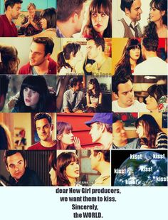 and THEY DID oh my goodness It was so amazing I love Nick and Jess on New Girl