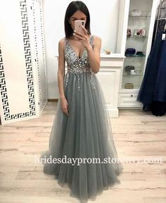 A Line V Neck Green Beaded Prom Dresses Long, Beaded V Neck Green Formal Dresses. - A Line V Neck Green Beaded Prom Dresses Long, Beaded V Neck Green Formal Dresses, Evening Dresses , Source by - School Dance Dresses, Grad Dresses, Homecoming Dresses, Sexy Dresses, Evening Dresses, Long Dresses, Dress Long, Elegant Dresses, High School Graduation Dresses
