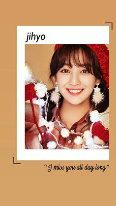 Park Jisoo || Park Jihyo || Jihyo Twice || Heart Shaker Lockscreen || Twice Wallpaper || Merry and Happy || Kpop Lockscreen
