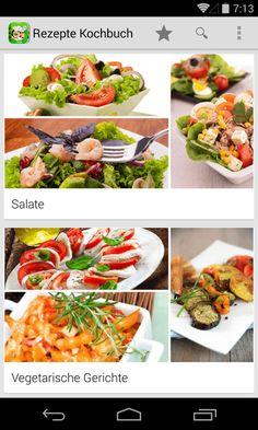 Rezepte Kochbuch zum Kochen– скриншот