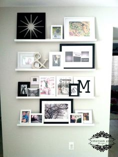 Emerson Grey Designs : Nursery Interior Designer: Styling shelves {our new home}