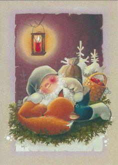 Kaarina Toivanen, Christmas card 10 x 15, Finland