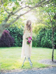 pretty dress by Sarah Seven