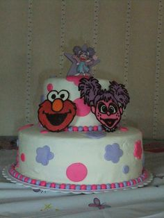 Elmo And Abby Cake Decoration : 1000+ images about Birthday Cake: Abby Cadabby on ...
