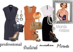 """""""Miranda Hobbes - Professional Chic"""" by lala0386 on Polyvore"""