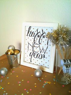 Tied Ribbon: New Years Printables