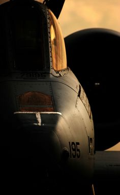 Nice (and somewhat ominous) looking portrait of the A-10 Thunderbolt II. Nice work by Scott Butner.