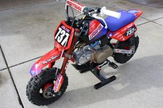 Z50R Troy Lee Honda Replica Bike