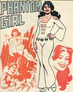 phantom girl by jaime hernandez
