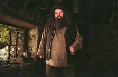 Rubeus Hagrid (Robbie Coltrane) in Harry Potter and the Prisoner of Azkaban Harry Potter Author, Harry Potter Films, Rúbeo Hagrid, Hagrids Hut, Robbie Coltrane, Prisoner Of Azkaban, Albus Dumbledore, Fantasy Movies, Draco Malfoy