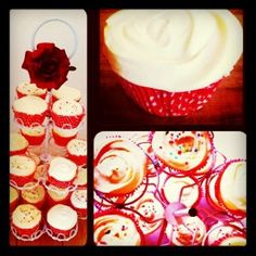 Pfirsich-Mascarpone Cupcakes