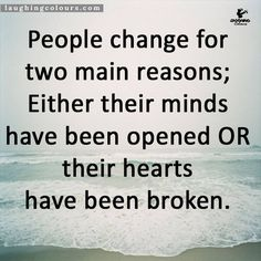 Change for 2 Reasons: Mind or Heart