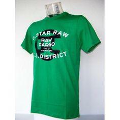 Camiseta G-star Raw Verde