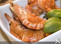 http://www.chefkoch.de/rezepte/816601186143932/Gambas-mit-Safran-Tomaten-Mojo.html