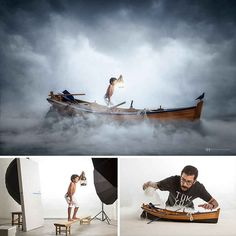 The process that photographer and digital artist Felix Hernandez Rodriguez goes through to create his surreal miniature photography is a delight to see and is Photography Lessons, Photoshop Photography, Toys Photography, Photography Tutorials, Creative Photography, Photography Ideas, Professional Photography, Artistic Photography, Photography Lighting Setup