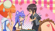 Esse anime é um festival de fofura, mais, com aquela leveza de sedução. kkkkkk Tô seduzindo!!! ~Acchi kocchi