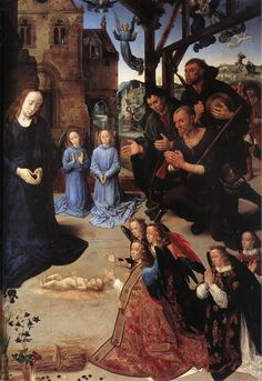 The Adoration of the Shepherds (detail) : GOES, Hugo van der : Art Images : Imagiva