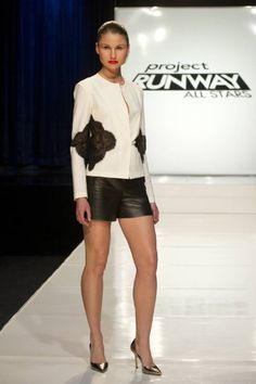Ivy Higa-Project Runway All Stars 2 Cute Cuts, Project Runway, Lace Inset, Red Carpet Looks, Diy Fashion, My Outfit, All Star, Short Dresses, Style Inspiration