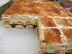 Czech Recipes, Ethnic Recipes, Graham Crackers, No Bake Cake, Nutella, Tiramisu, Sweet Recipes, Cheesecake, Sweet Tooth